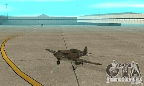 P-35 для GTA San Andreas вид слева