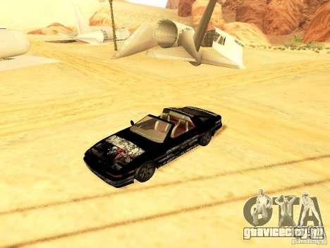 Toyota Supra для GTA San Andreas вид изнутри