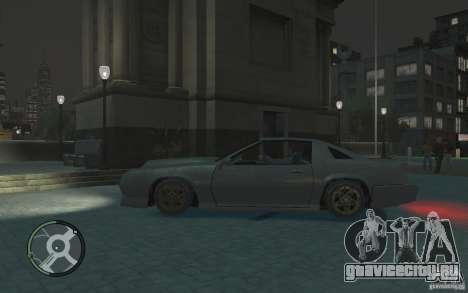 Buffalo IV для GTA 4 вид слева