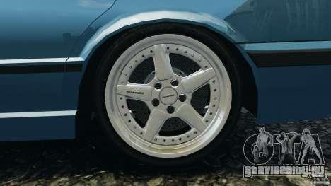BMW E34 V8 540i для GTA 4 вид сверху