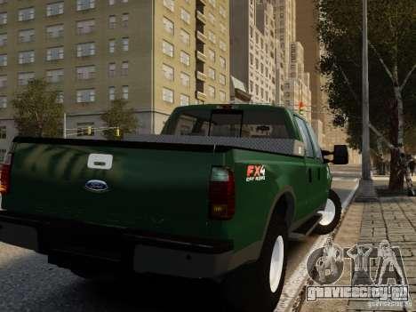 Ford F-250 FX4 2009 для GTA 4 вид слева