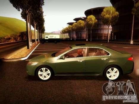 Acura TSX для GTA San Andreas вид справа