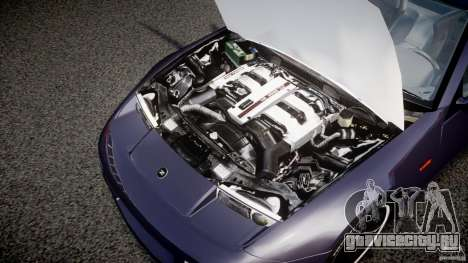 Nissan 300zx Fairlady Z32 для GTA 4 вид изнутри