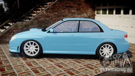 Subaru Impreza WRX STI Spec C Type RA-R 2007 для GTA 4 вид слева
