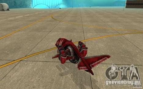 Москит air Command & Conquer 3 для GTA San Andreas вид справа