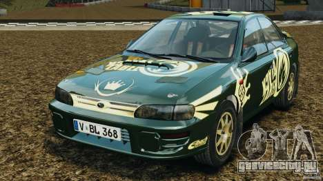 Subaru Impreza WRX STI 1995 Rally version для GTA 4