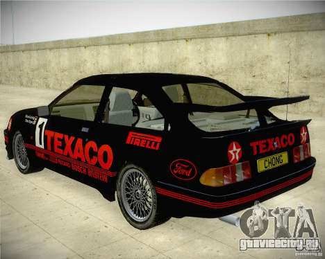 Ford Sierra RS500 Race Edition для GTA San Andreas вид слева