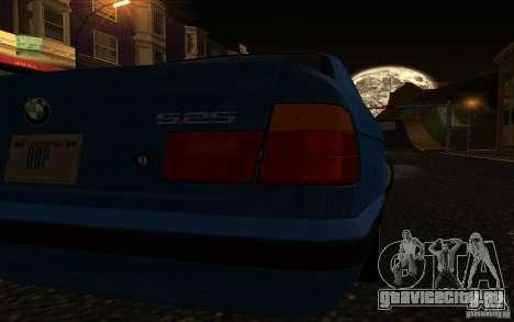 BMW 525 E34 V.3 для GTA San Andreas вид справа