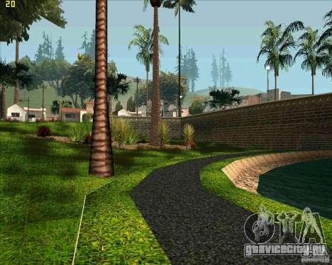 Новый парк в Лос Сантосе для GTA San Andreas третий скриншот