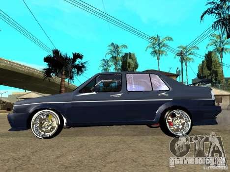 VW Jetta для GTA San Andreas вид слева