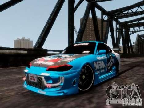 Nissm Silvia S15 Blue Tiger для GTA 4