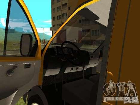 ГАЗ СПВ Рута-16 для GTA San Andreas вид сзади
