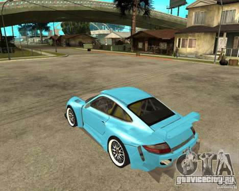 Porsche 911 Turbo Grip Tuning для GTA San Andreas вид слева