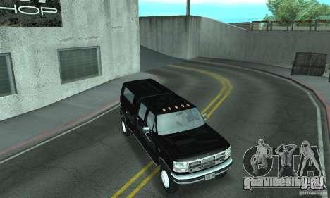 Ford F-350 1992 для GTA San Andreas колёса