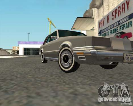Chrysler New Yorker 1988 для GTA San Andreas вид справа