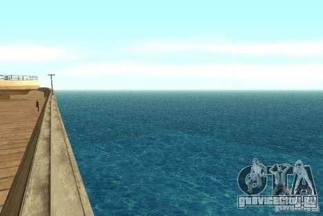 Новые текстуры воды для GTA San Andreas второй скриншот