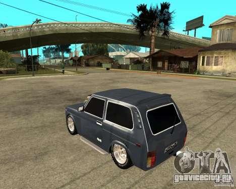 NIVA Mustang для GTA San Andreas вид слева