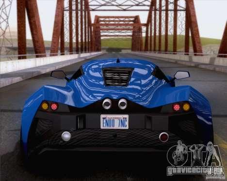 Marussia B2 2010 для GTA San Andreas вид справа