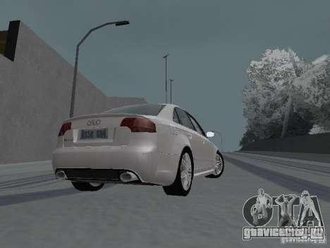 Audi RS4 для GTA San Andreas вид справа