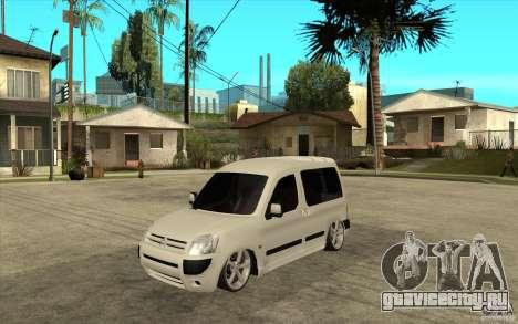 Citroen Berlingo 2007 для GTA San Andreas