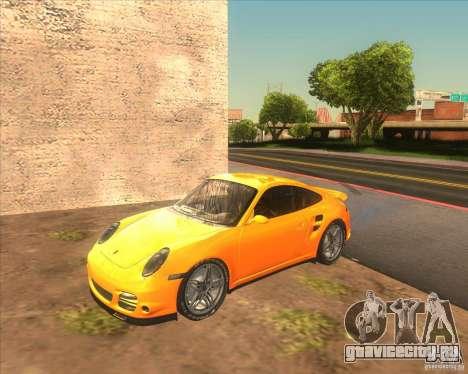 Porsche 911 Turbo (997) 2007 для GTA San Andreas