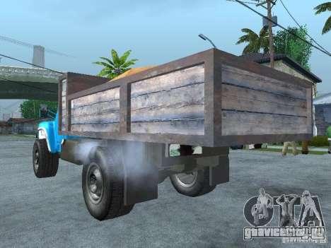 ЗиЛ 130 Мусоровоз для GTA San Andreas вид слева
