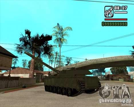 TT-140 mb для GTA San Andreas вид сзади слева