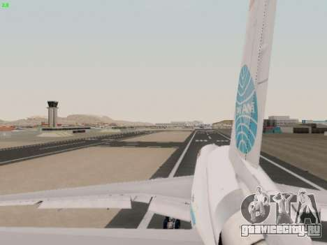 McDonell Douglas DC-10-30 PanAmerican Airways для GTA San Andreas вид сбоку