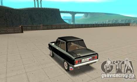 ЗАЗ 968М ver 1.0 для GTA San Andreas вид сзади слева