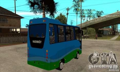 Iveco Eurocity для GTA San Andreas вид справа