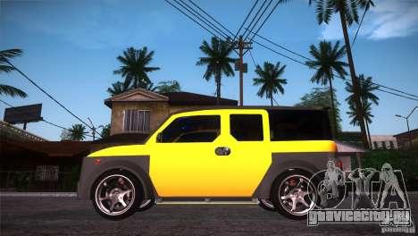 Honda Element LX для GTA San Andreas вид слева