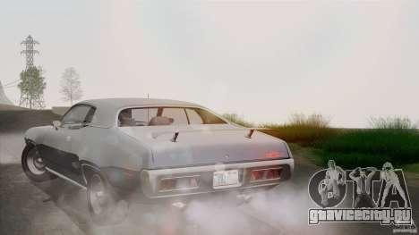 Plymouth GTX 426 HEMI 1971 для GTA San Andreas вид снизу