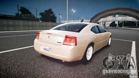 Dodge Charger RT Hemi 2007 Wh 1 для GTA 4 вид сбоку