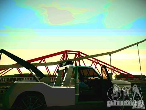 Towtruck tuned для GTA San Andreas вид слева