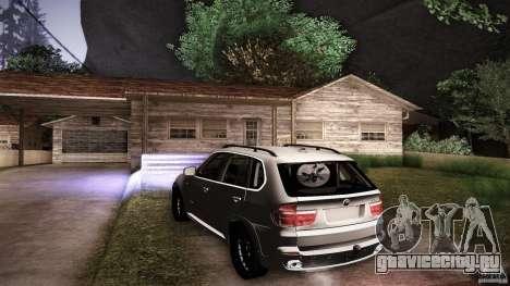 BMW X5 with Wagon BEAM Tuning для GTA San Andreas двигатель