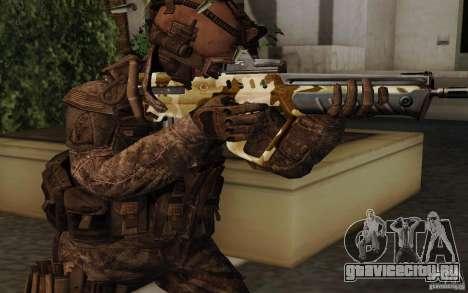 Tavor Tar-21 Camodesert для GTA San Andreas второй скриншот