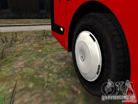 Mercedes Travego для GTA 4 вид снизу
