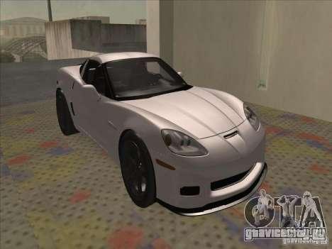 Chevrolet Corvette Grand Sport 2010 для GTA San Andreas вид слева