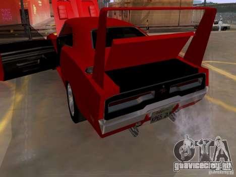 Dodge Charger Daytona 440 для GTA San Andreas вид сбоку
