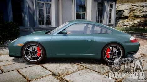 Porsche 911 (996) Carrera 4S для GTA 4 вид слева