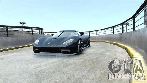 Koenigsegg Agera R для GTA 4 вид сзади слева