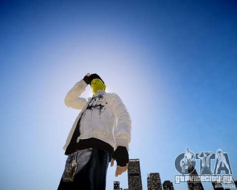 Niko The Mask для GTA 4 третий скриншот