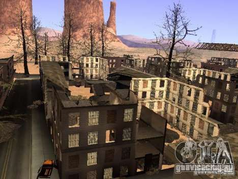 Чернобыль MOD v1 для GTA San Andreas восьмой скриншот