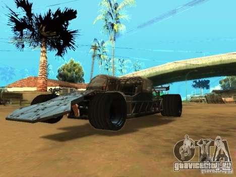 Fast & Furious 6 Flipper Car для GTA San Andreas вид сзади слева