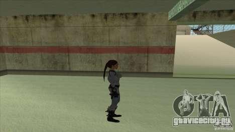Lara Croft для GTA San Andreas четвёртый скриншот