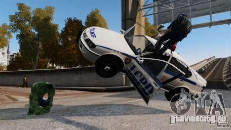 Халк скрипт для GTA 4 третий скриншот