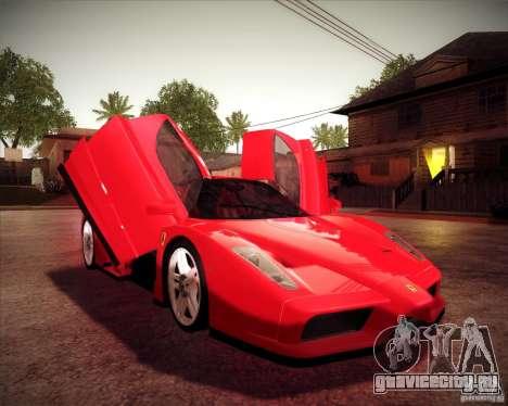 Ferrari Enzo для GTA San Andreas вид сзади