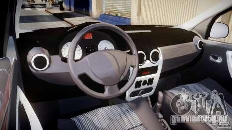 Dacia Logan v1.0 для GTA 4 вид справа
