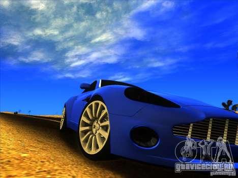 Aston Martin V12 Vanquish V1.0 для GTA San Andreas вид слева