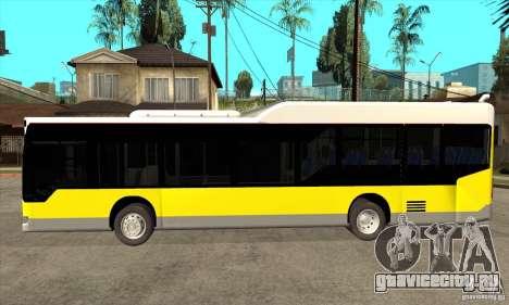 Mercedes-Benz Citaro LE для GTA San Andreas вид слева